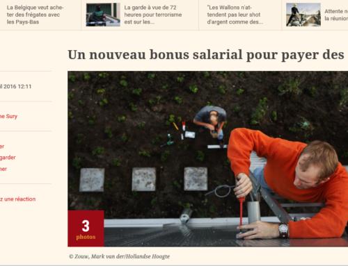 L'echo – Un nouveau bonus salarial pour payer des petits travaux à domicile