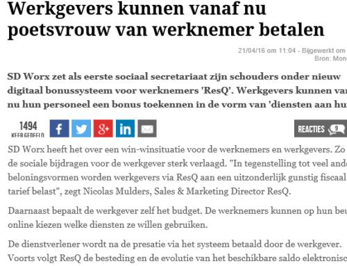 Moneytalk – Werkgevers kunnen vanaf nu poetsvrouw van werknemer betalen