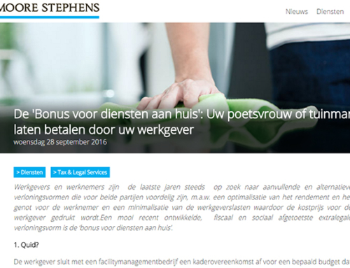 Moore Stephens – Tax & Legal News Publicatie