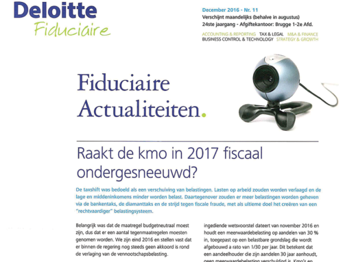 ResQ in Deloitte Fiduciaire December 2016
