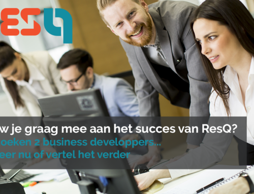ResQ werft aan – 2 Business Developpers