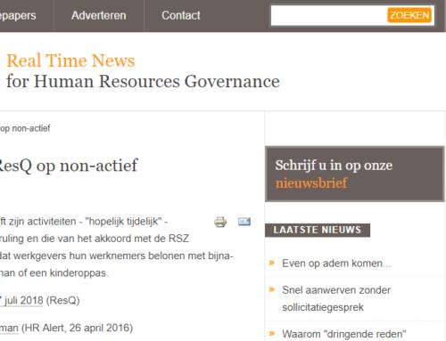 Jammer: klusplatform ResQ op non-actief
